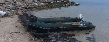 Держінспектори викрили  порушників з 135 од.  підйомними пастками, - Азовський рибоохоронний патруль
